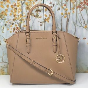 NWT Michael Large Ciara satchel